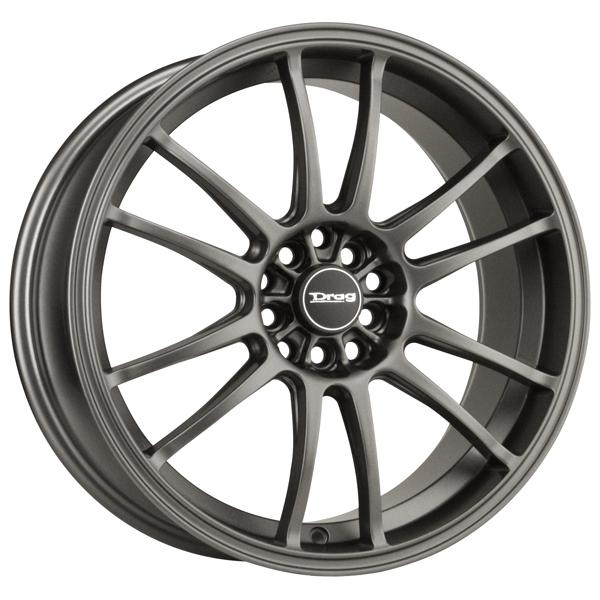 DR38 CHARCOAL GRAY FULL PAINTED RIM by DRAG WHEELS