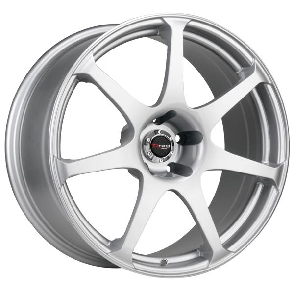 DR48 SILVER FULL PAINTED RIM by DRAG WHEELS