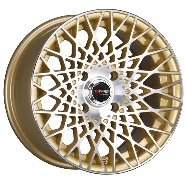 DR65 GOLD RIM with MACHINED FACE by DRAG WHEELS