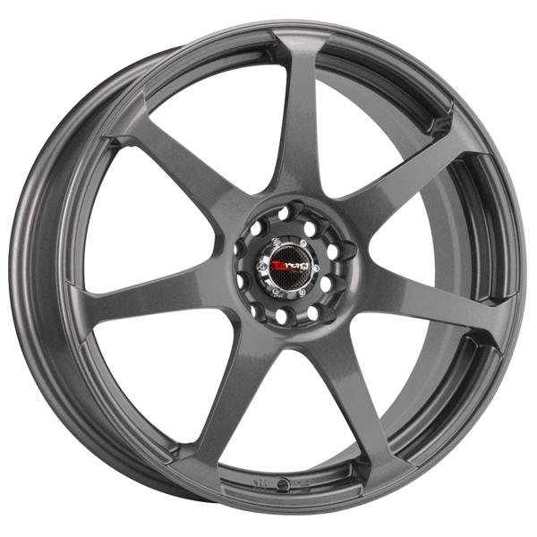 DR33 CHARCOAL GRAY FULL PAINTED RIM by DRAG WHEELS