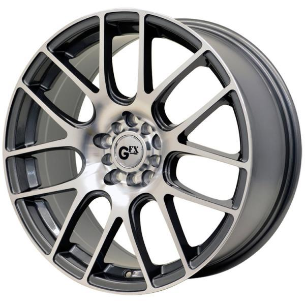G20 GUNMETAL RIM with MACHINED FACE by GFX WHEELS