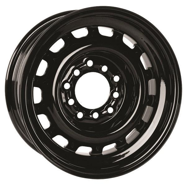 HOTRODHANKS STEEL ARTILLERY GLOSS BLACK RIM - Cap Not Included by SPECIAL BUY WHEELS