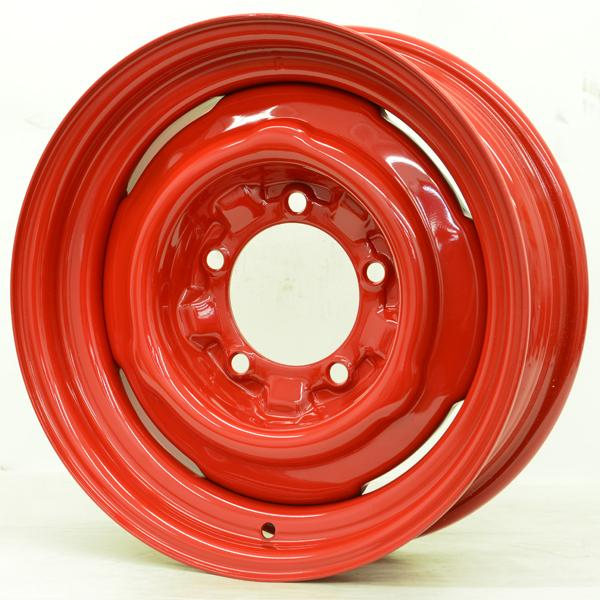 HOTRODHANKS STEEL OE BARON RED RIM - Cap Not Included by SPECIAL BUY WHEELS