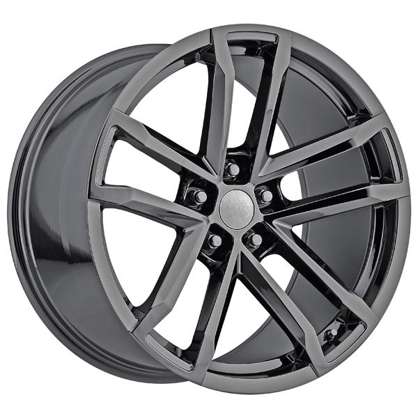 CHEVY CAMARO ZL1 2012 STYLE 41 PVD BLACK CHROME RIM by FACTORY REPRODUCTIONS WHEELS