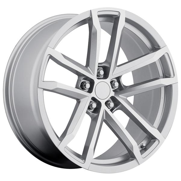 CHEVY CAMARO ZL1 2012 STYLE 41 SILVER RIM with MACHINED FACE by FACTORY REPRODUCTIONS WHEELS