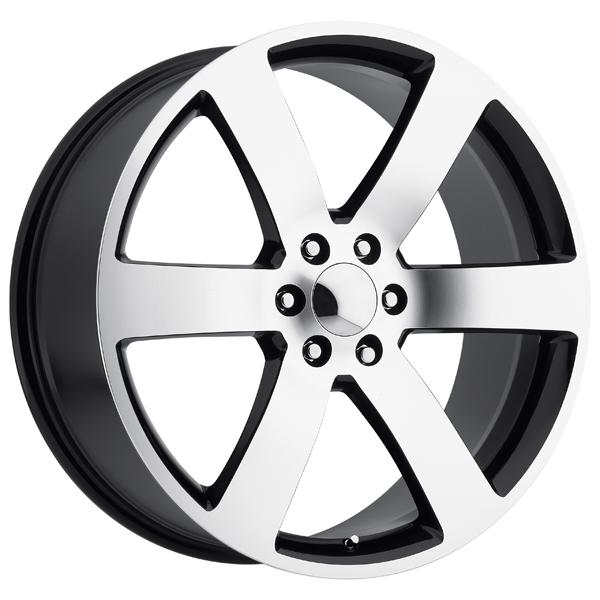 CHEVY TRAILBLAZER SS STYLE 32 BLACK MACHINED FACE RIM by FACTORY REPRODUCTIONS WHEELS