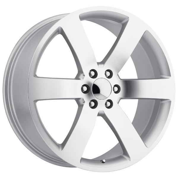 CHEVY TRAILBLAZER SS STYLE 32 SILVER MACHINED FACE RIM by FACTORY REPRODUCTIONS WHEELS