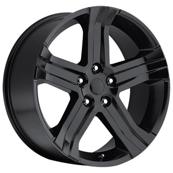 DODGE RAM RT 2013 STYLE 69 GLOSS BLACK RIM by FACTORY REPRODUCTIONS WHEELS