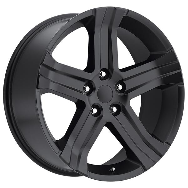 DODGE RAM RT 2013 STYLE 69 SATIN BLACK RIM by FACTORY REPRODUCTIONS WHEELS