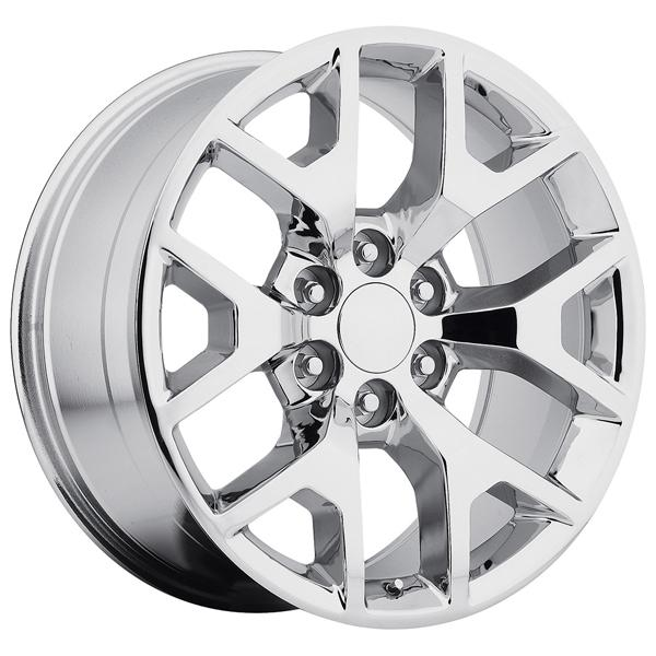 GMC SIERRA 2014 STYLE 44 CHROME RIM by FACTORY REPRODUCTIONS WHEELS