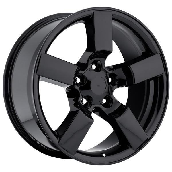 FORD LIGHTNING 2001 STYLE 50 GLOSS BLACK RIM by FACTORY REPRODUCTIONS WHEELS