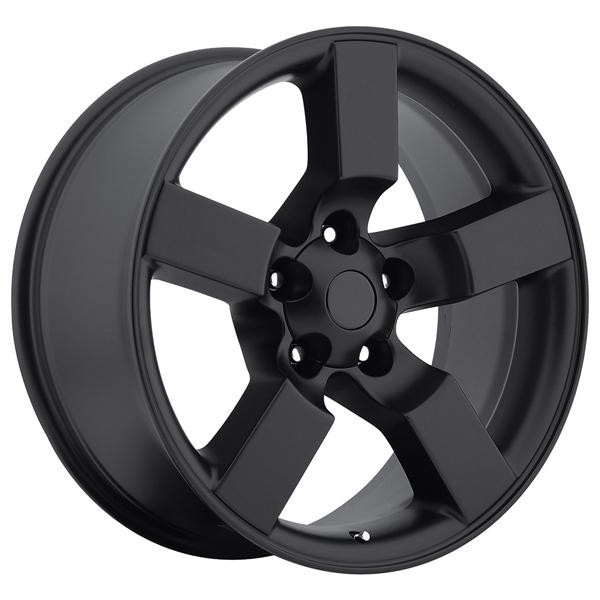 FORD LIGHTNING 2001 STYLE 50 SATIN BLACK RIM by FACTORY REPRODUCTIONS WHEELS