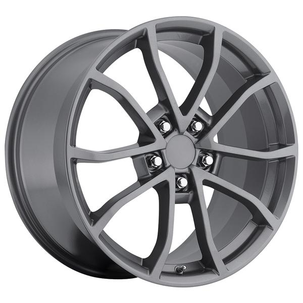 CORVETTE CUP C6 2012 STYLE 25 COMP GREY RIM by FACTORY REPRODUCTIONS WHEELS