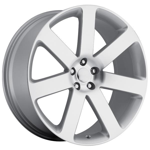 CHRYSLER 300C SRT8 2012 STYLE 67 SILVER MACHINED FACE RIM by FACTORY REPRODUCTIONS WHEELS