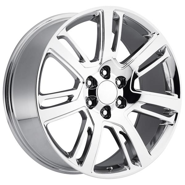 CADILLAC ESCALADE 2015 STYLE 48 PVD CHROME RIM by FACTORY REPRODUCTIONS WHEELS