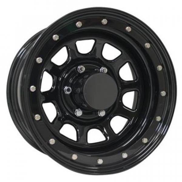 STEEL SERIES 252 GLOSS BLACK RIM - Cap Not Included by PRO COMP ALLOYS WHEELS