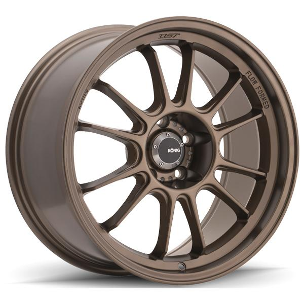 HYPERGRAM MATTE BRONZE RIM by KONIG WHEELS