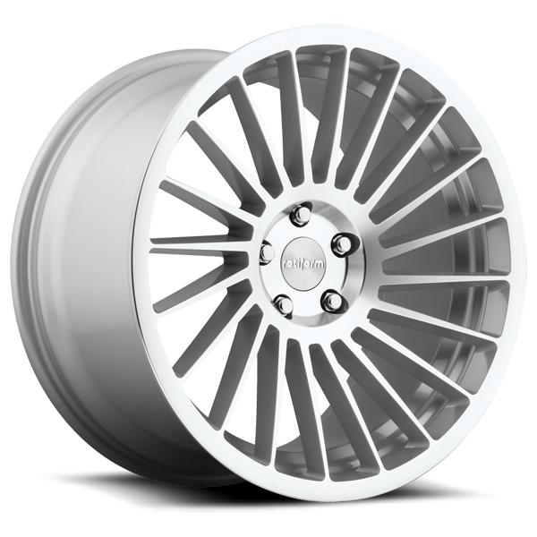IND-T R125 SILVER MACHINED RIM by ROTIFORM CAST COLLECTION