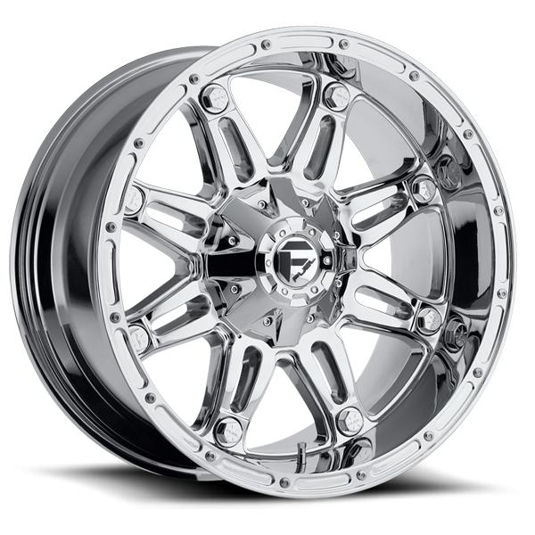 HOSTAGE D530 CHROME RIM by FUEL OFFROAD WHEELS