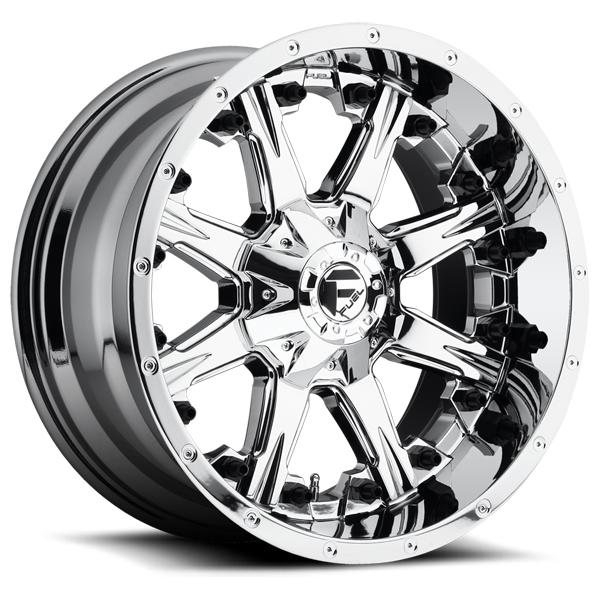 NUTZ D540 PVD CHROME RIM by FUEL OFFROAD WHEELS