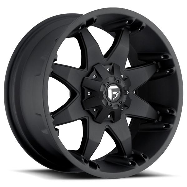 OCTANE D509 MATTE BLACK RIM by FUEL OFFROAD WHEELS