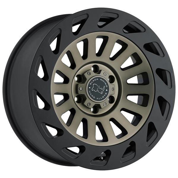 MADNESS DARK TINT MACHINE FACE RIM with MATTE BLACK LIP by BLACK RHINO WHEELS