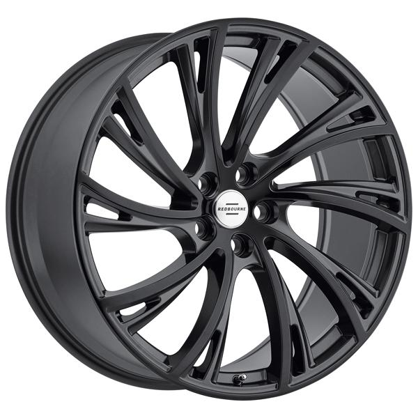 NOBLE GLOSS GUNMETAL RIM with GLOSS BLACK FACE  by REDBOURNE WHEELS