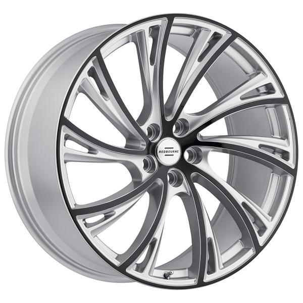 NOBLE GLOSS TITANIUM RIM with GLOSS BLACK FACE  by REDBOURNE WHEELS