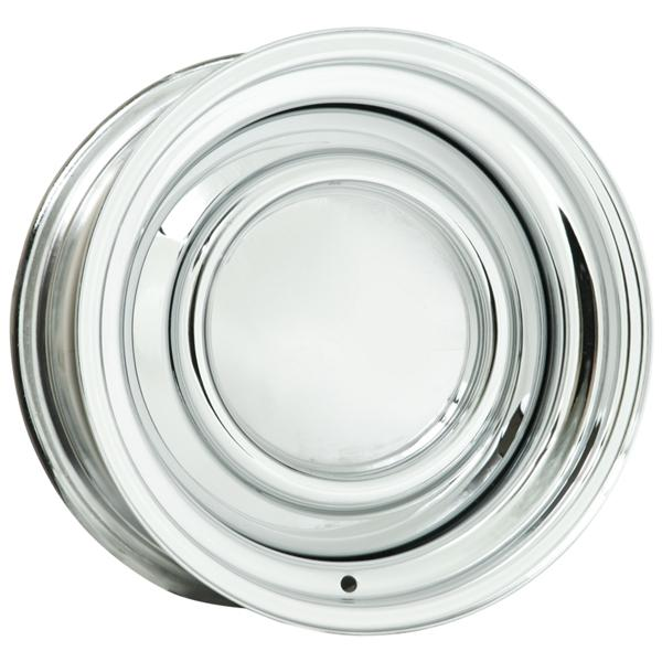 10 SERIES SMOOTHIE CHROME RIM (CAP NOT INCLUDED) by WHEEL VINTIQUES