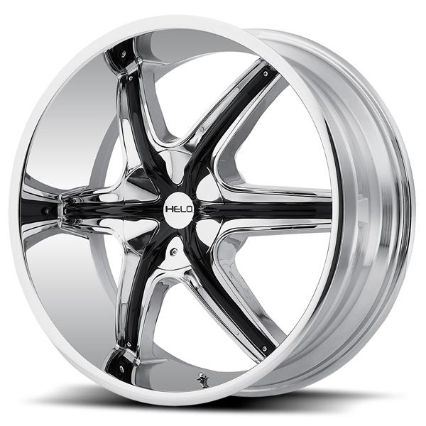 HE891 CHROME RIM with ACCENTS by HELO WHEELS