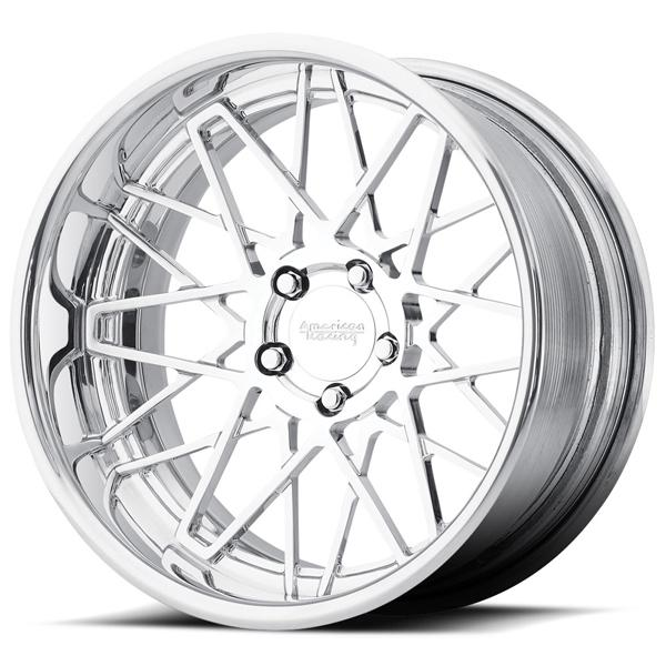 VF502 CROSS UP FORGED POLISHED RIM by AMERICAN RACING WHEELS