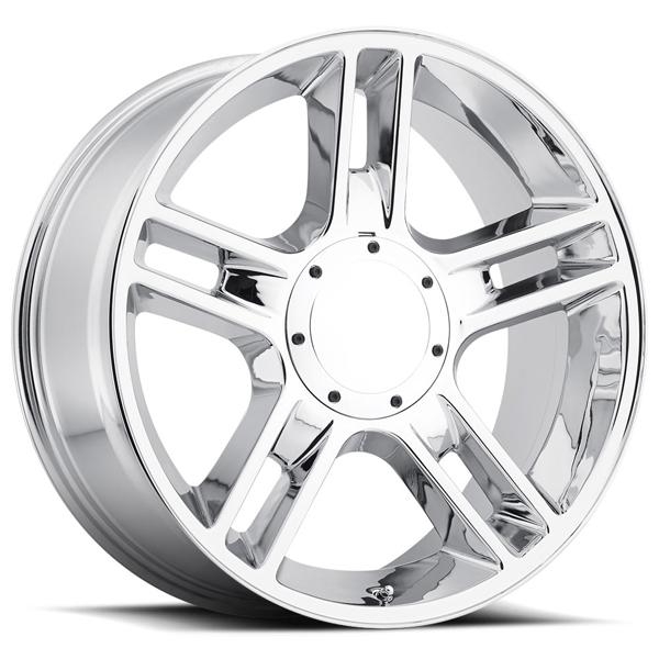 FORD 2000 F-150 HARLEY STYLE 51 CHROME RIM by FACTORY REPRODUCTIONS WHEELS