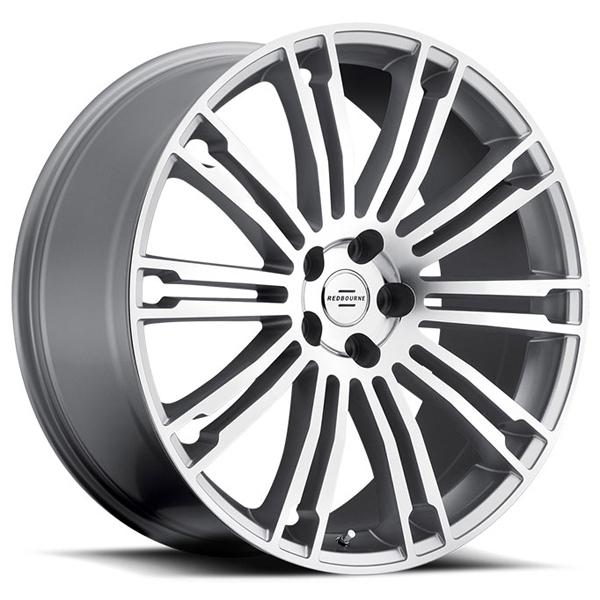MANOR SILVER RIM with MIRROR CUT FACE by REDBOURNE WHEELS