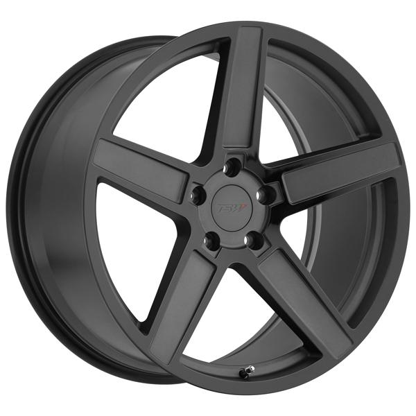 ASCENT MATTE GUNMETAL RIM with GLOSS BLACK FACE by TSW WHEELS