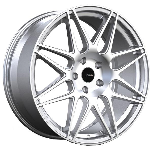 CL CLASSE SILVER RIM with MACHINED FACE by ADVANTI WHEELS