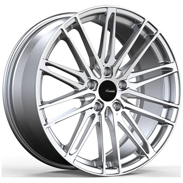 DS DIVISO SILVER RIM with MACHINED FACE by ADVANTI WHEELS