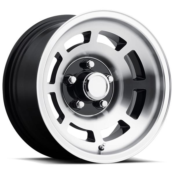 CORVETTE YJ8 76-79 STYLE 23 BLACK MACHINED RIM by FACTORY REPRODUCTIONS WHEELS