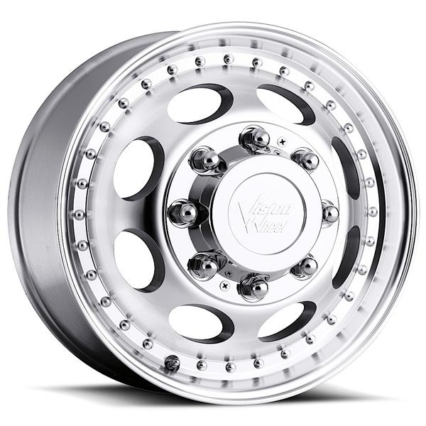 HAULER 181 DUALLY MACHINED FRONT RIM by VISION WHEELS