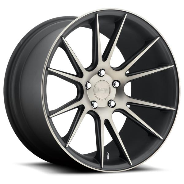 VICENZA M153 BLACK RIM with MACHINED FACE DDT by NICHE WHEELS
