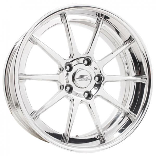 CONCAVE PRO-TOURING TOPLOADER POLISHED RIM by BILLET SPECIALTIES WHEELS