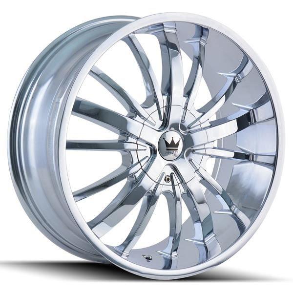 ESSENCE 364 CHROME RIM by MAZZI WHEELS