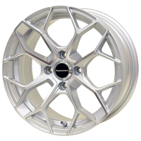 RACING HART SS-A1 SILVER MACHINED RIM by SPECIAL BUY WHEELS