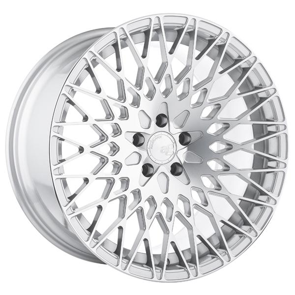 M540 SILVER MACHINED RIM by AVANT GARDE WHEELS