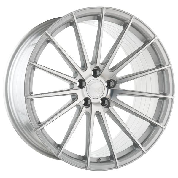 M615 ROTARY FORGED SILVER MACHINED RIM by AVANT GARDE WHEELS