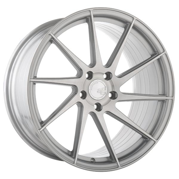 M621 ROTARY FORGED BRUSHED LIQUID SILVER RIM by AVANT GARDE WHEELS