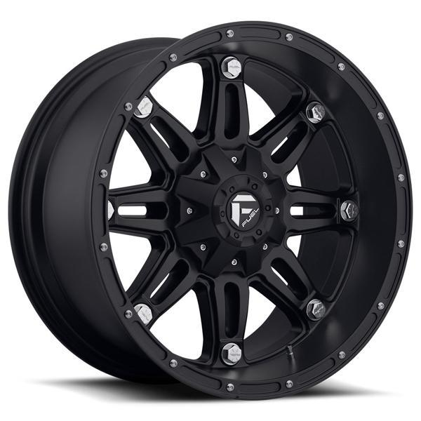 FUEL OFFROAD HOSTAGE D531 MATTE BLACK RIM DISPLAY SET OF 5 - 1 SET ONLY - SOLD AS IS by SPECIAL BUY WHEELS