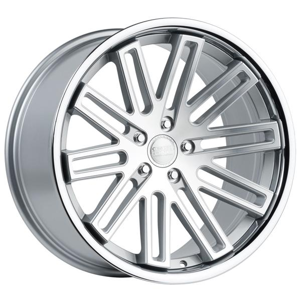 CS-20 SILVER MACHINED RIM by CONCEPT ONE WHEELS