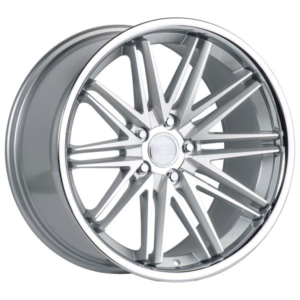 CS-16 SILVER MACHINED RIM by CONCEPT ONE WHEELS