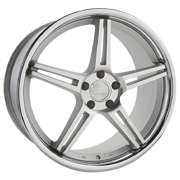 CS-5.0 CONCAVE MATTE SILVER RIM by CONCEPT ONE WHEELS
