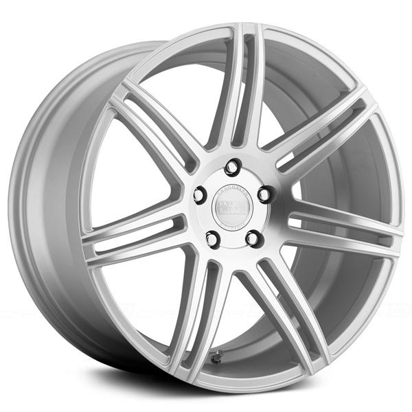 CSM7 MATTE SILVER MACHINED RIM by CONCEPT ONE WHEELS
